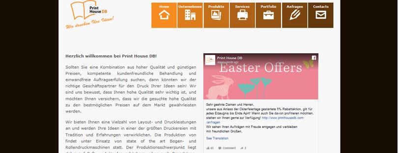 Print House DB